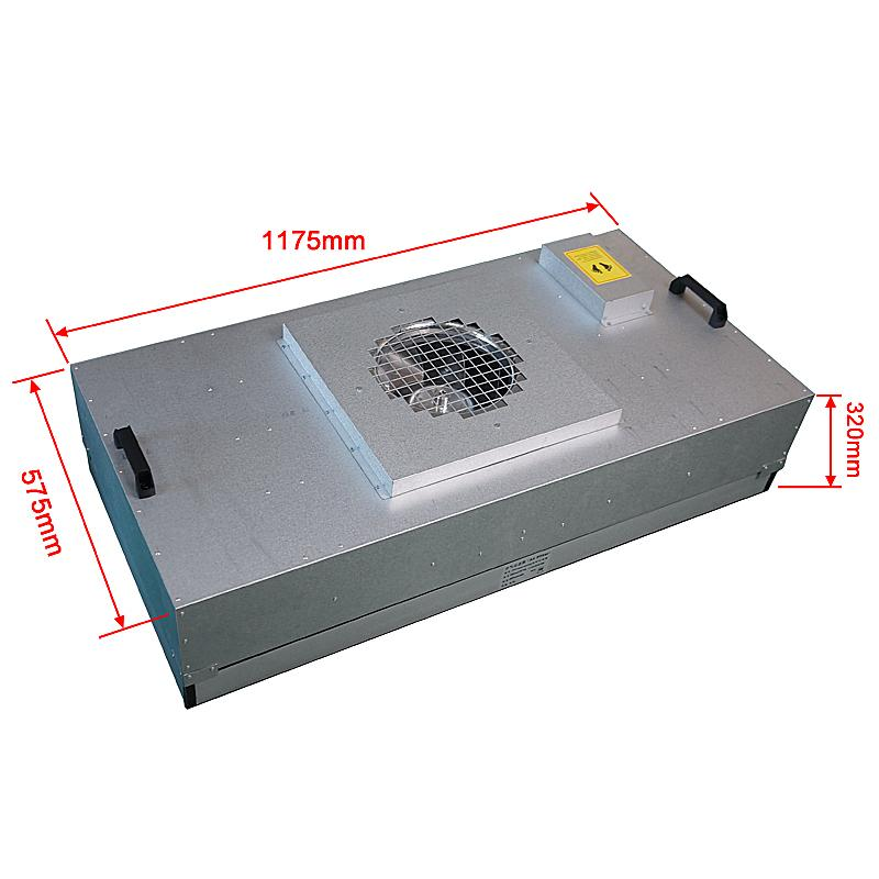 Fan Filter Unit FFU With Filter High Efficiency Cleanroom
