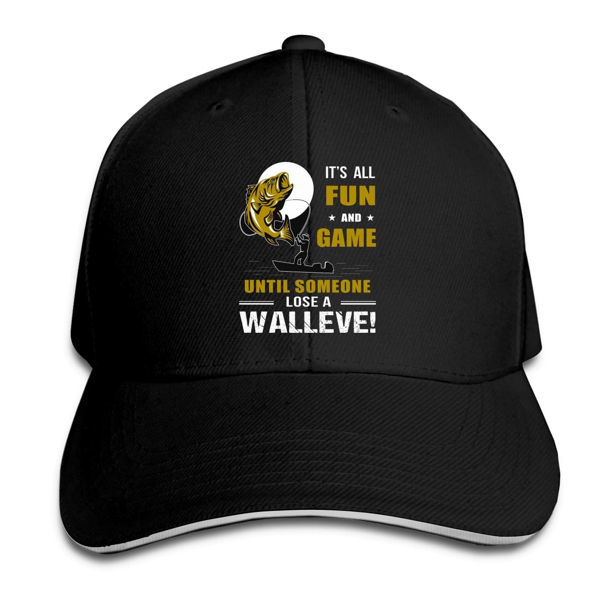 Funny Walleye Fishing Mug - Walleye Fishing Baseball Cap Peaked Cap Cotton Cap Snapback Hat Summer Cap Hip Hop Cap fishing