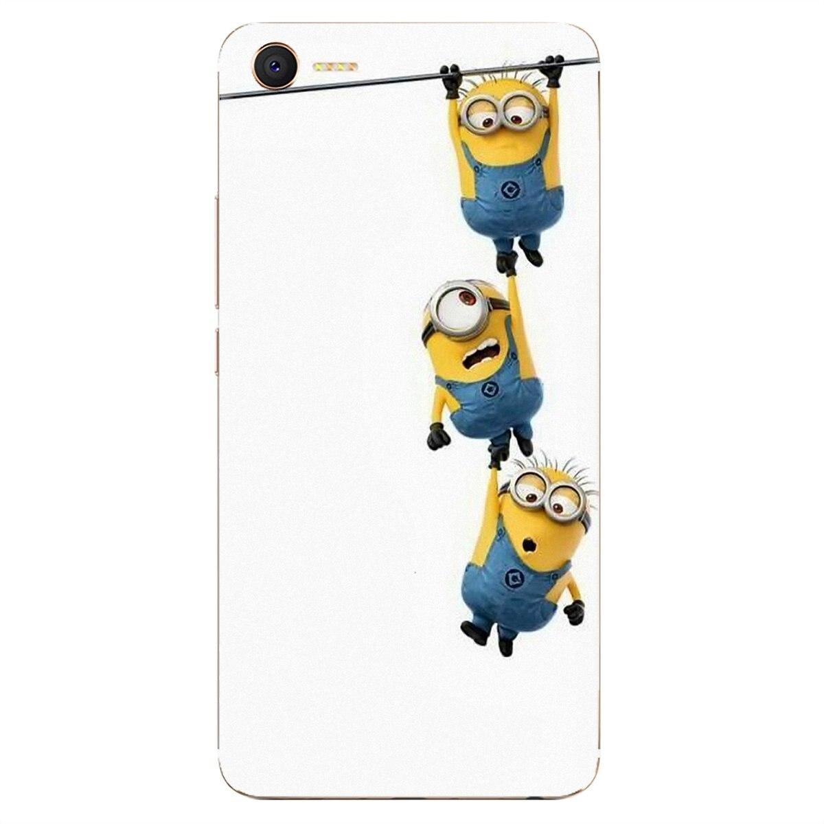 Fundas blandas para Huawei G7 G8 P7 P8 P9 P10 P20 P30 Lite Mini Pro P Smart 2017 2018 2019 dibujos animados Despicable Me amarillo Minions