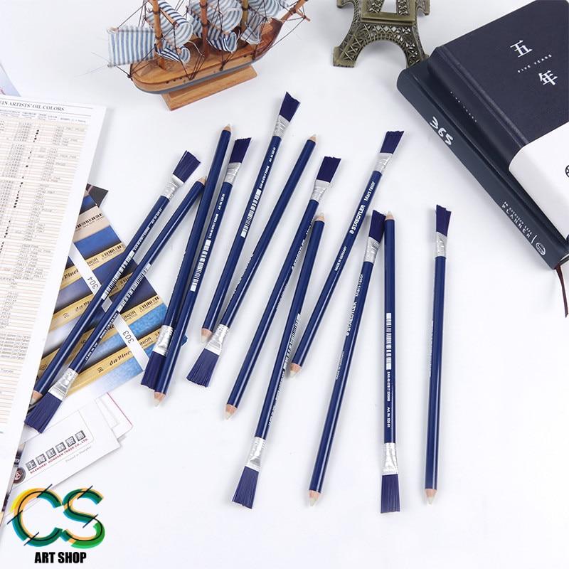 Рекомендуемый немецкий ластик STAE D TLER 526 61, ластик с высоким блеском, портативный ластик с кисточкой, специально для искусства staedtler ластик rasoplast 526 b20 белый