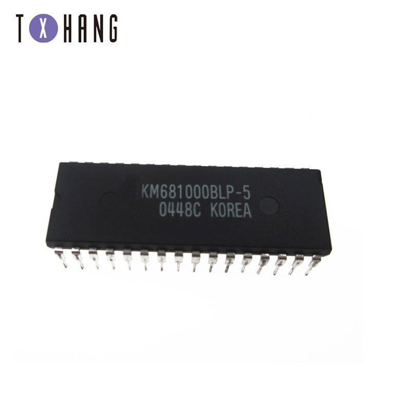 1/5 Uds KM681000BLP-5 32 pines 681000BLP 128K x8 bit CMOS estática RAM electrónica diy