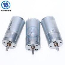 1Pcs 12RPM zu 1360RPM GA25-370 DC Motor Getriebe Motor 6V 12V 24V Hohe Drehmoment elektrische Getriebe Motor