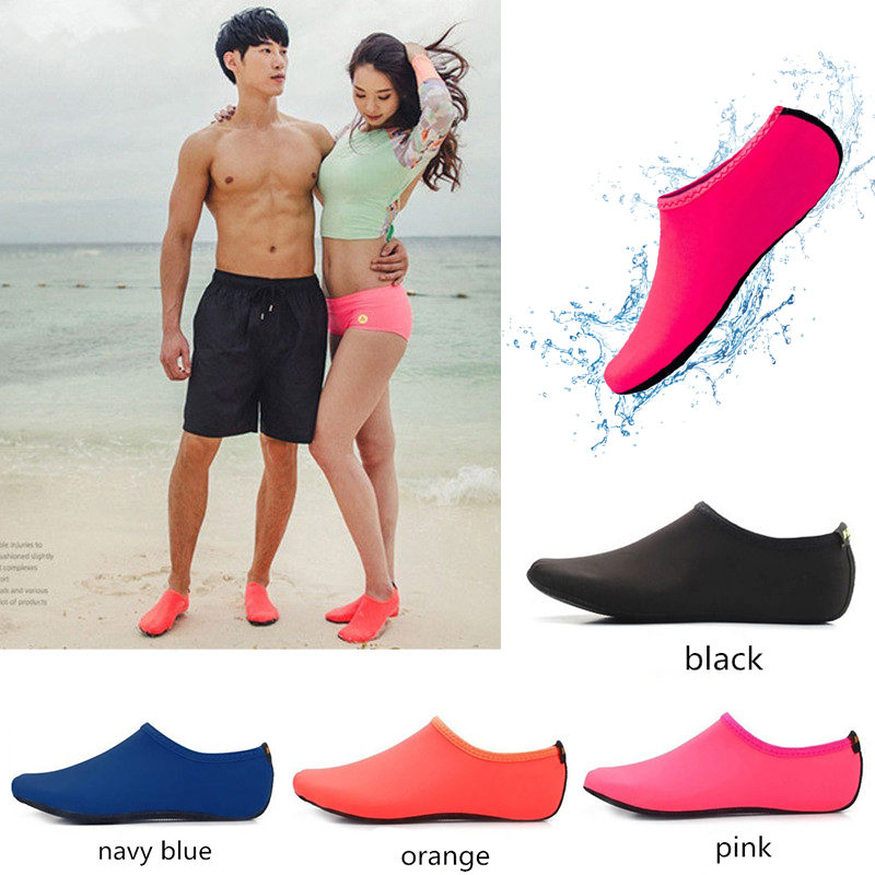 Water Shoes Men Women Swimming Socks Printing Color Summer Aqua Beach Sneakers Seaside Sneaker Socks Slippers for Men Women