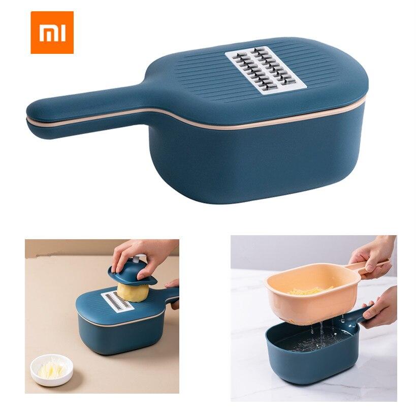 Jordan & ampjudy multi-funcional cortador de legumes manual slicer batata ralador cenouras com caixa de armazenamento de alimentos para cozinha accesso