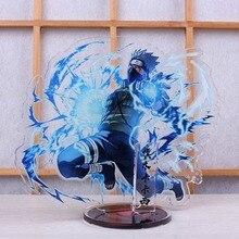 Anime Uzumaki naruto Acrylic Stand Model Toys naruto Action Figure Pendant toy 15cm double-side gift