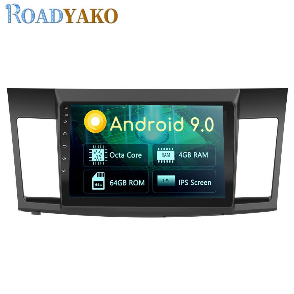 "10,1 ""Android panel de coche REPRODUCTOR DE DVD navegador GPS para Mitsubishi Lancer EX 2010-2019 estéreo Radio de coche sistema Multimedia 2 Din"