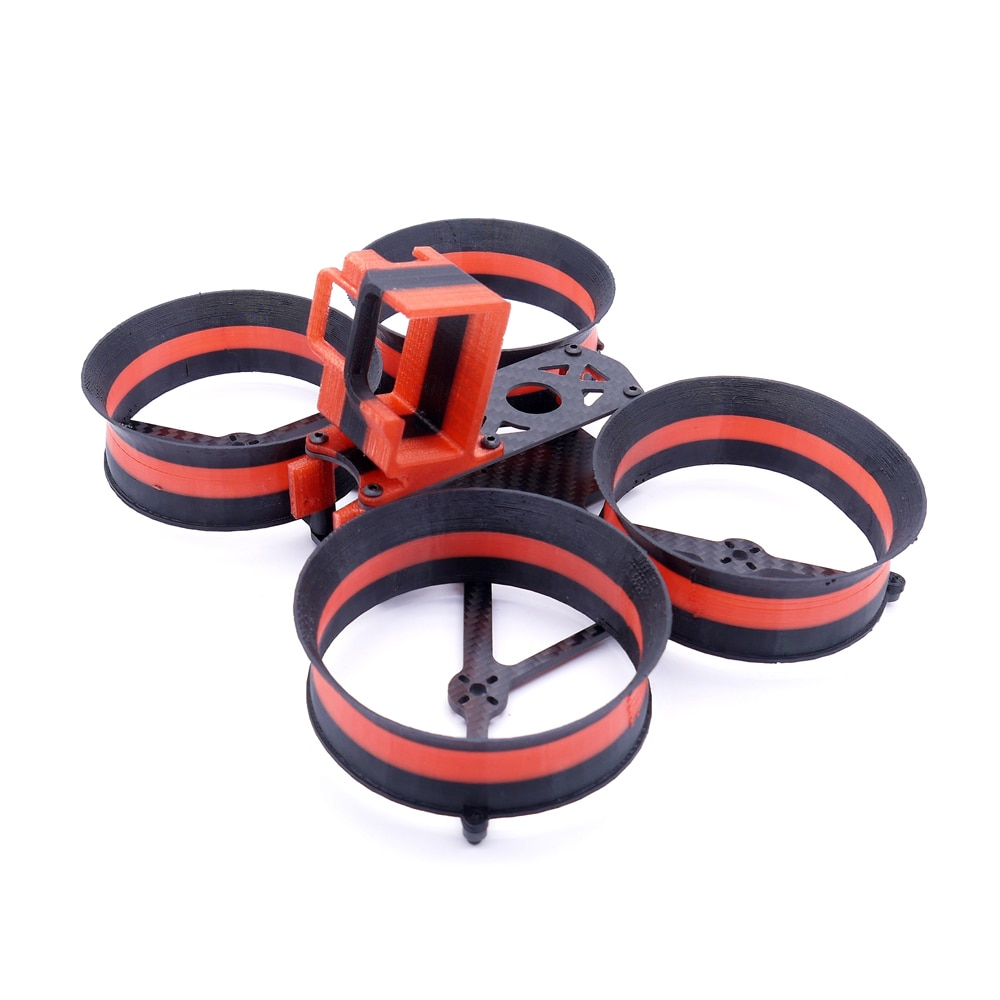Makaron 3 pulgadas 3,5 pulgadas 160mm 180mm Wheelbase X tipo marco kit con conducto impreso 3D para RC Drone FPV Racing