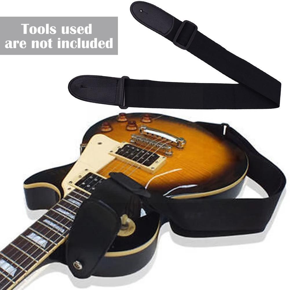 Guitar Nylon Strap Leather Adjustable Black Red Blue Accessories Strap Hot Musical Sale Instruments Guitar Belt Electric Ba I6k6