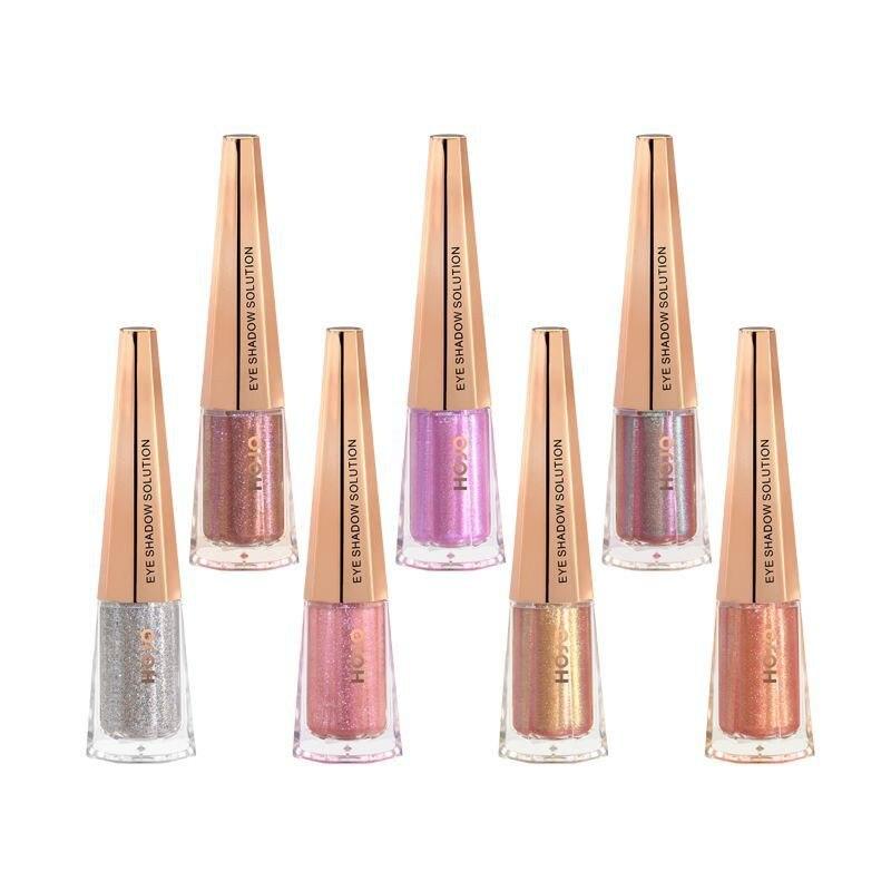 HOJO Unicorn Beauty Monochrome Polarized тени для век Pearlescent Shiny Super Flash Nude Makeup Eyeshadow тени