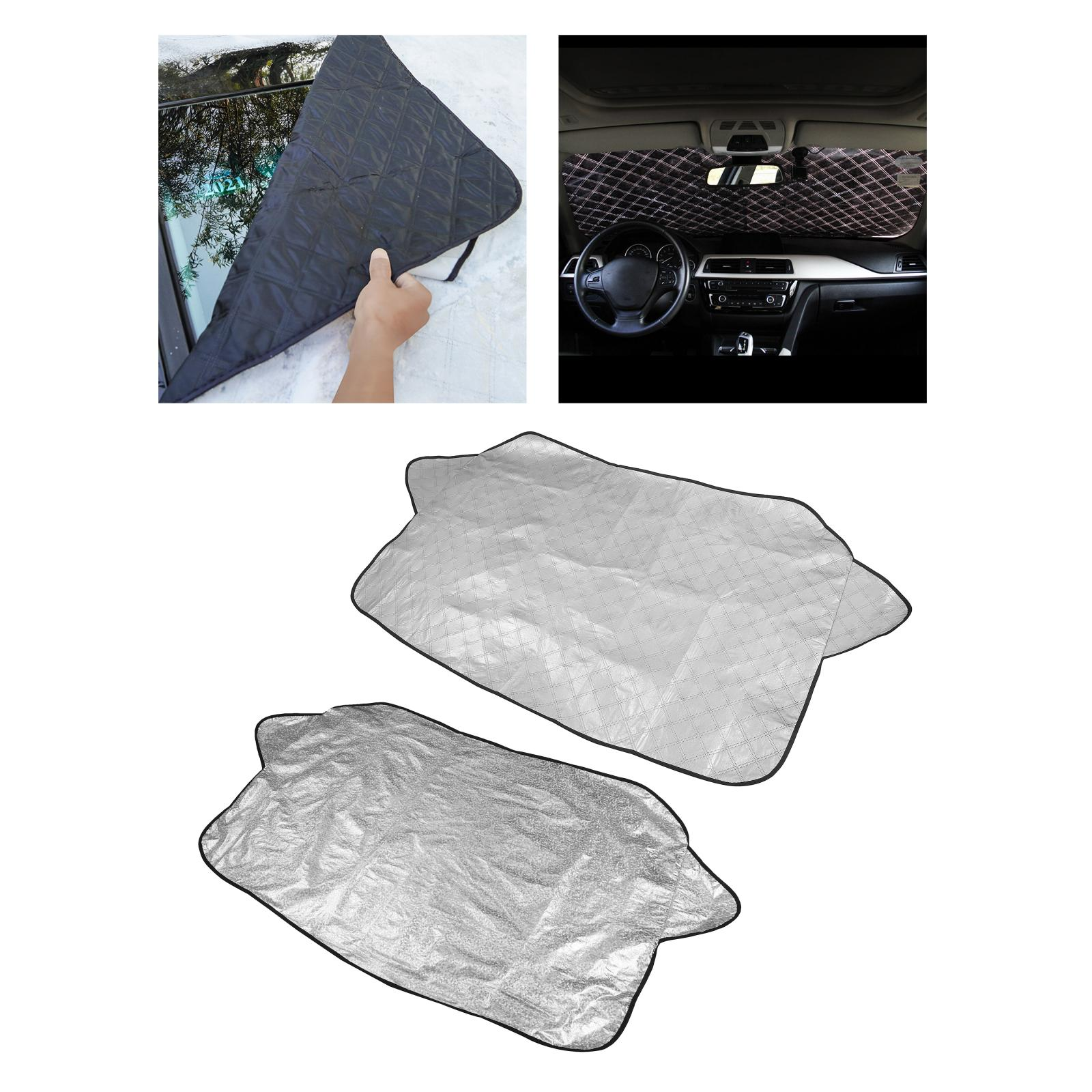 Winter Car Windshield Snow Cover Ice Dust Screen Protector Shield Guard