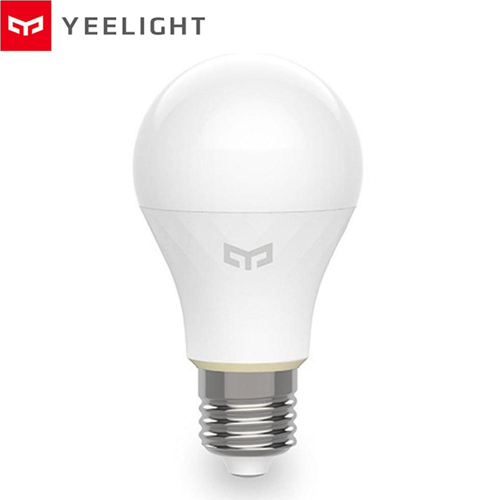 Yeelight YLDP10YK Mesh E27 6W bombilla LED inteligente AC220V 2700-6500K Mijia Mi Home Bluetooth bombillas inteligentes iluminación