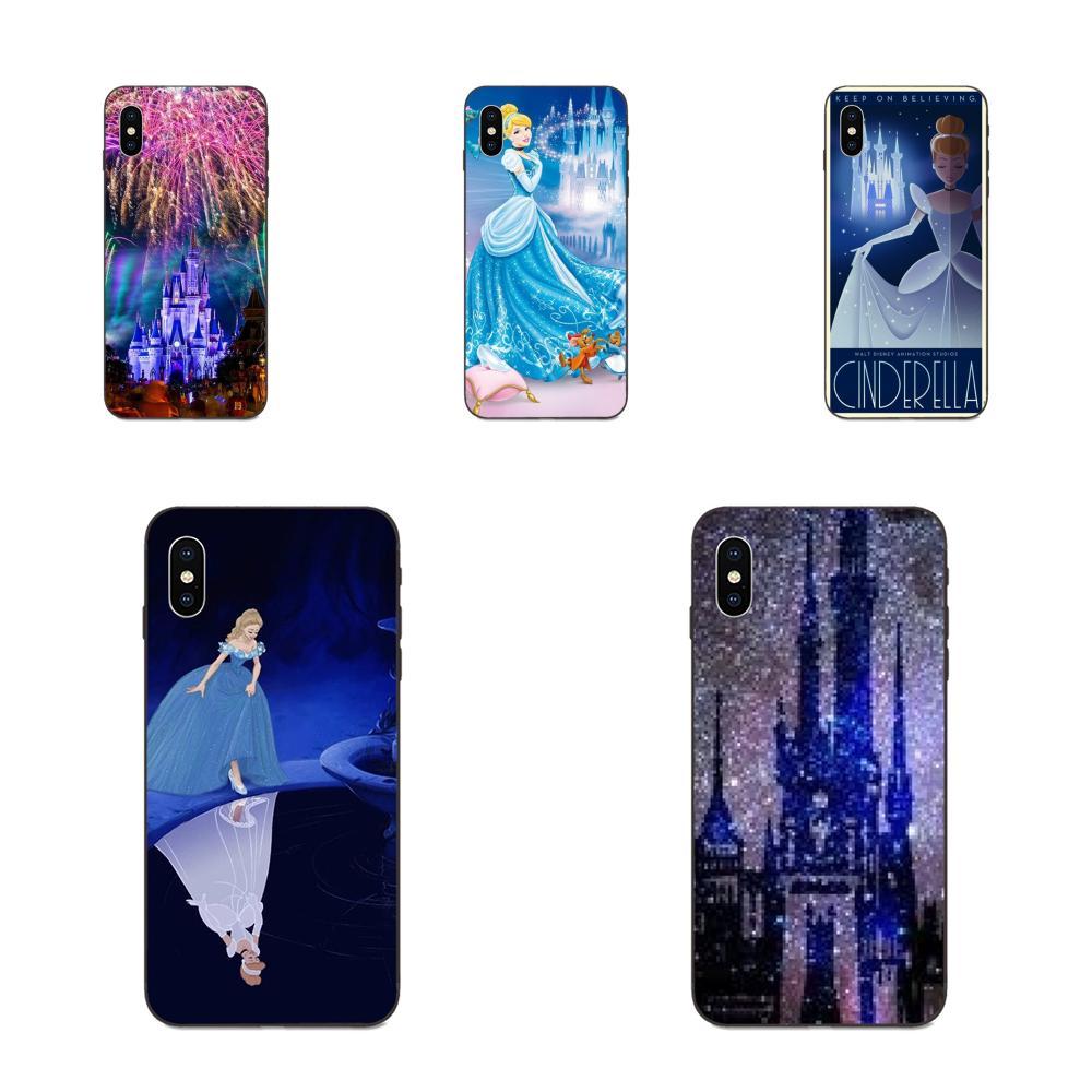 Cinderella Castle Magie Königreich Weiche TPU Fall Für Apple iPhone 4 4S 5 5S SE 6 6S 7 8 11 Plus X XS Max XR Pro Max