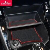 smabee for peugeot 208 e 208 2020 2021 gt anti slip gate slot cup mat accessories door pad non slip mats car sticker holder