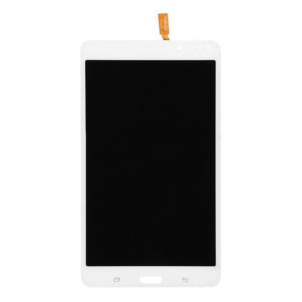 Para samsung galaxy tab 4 7.0 SM-T230 display lcd + touch screen digitador assembléia branco e preto