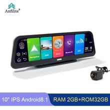 Anfilite-navigateur GPS pour voiture, Android 8.1, 4G ADAS, Full HD, 1080P DVR, camion portable, navigateur automatique, carte européenne, satellite nav