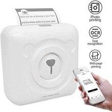 Imprimantes portatives de étiquette dimpression de téléphone Portable de poche dimprimante thermique de MINI Bluetooth pour liphone dandroid