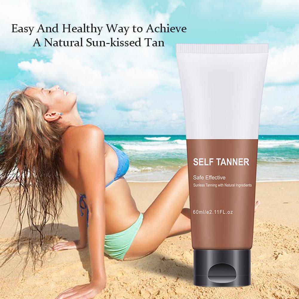 Beauty Black Cream Sunbed Lotion Cream Natural Tan Accelerator Black Cream Suntan Cream Create Healthy Bronzen Man Women