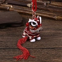 chinese style unicorn lion dance ornaments classical style lion dance ornaments desk decoration home accessories