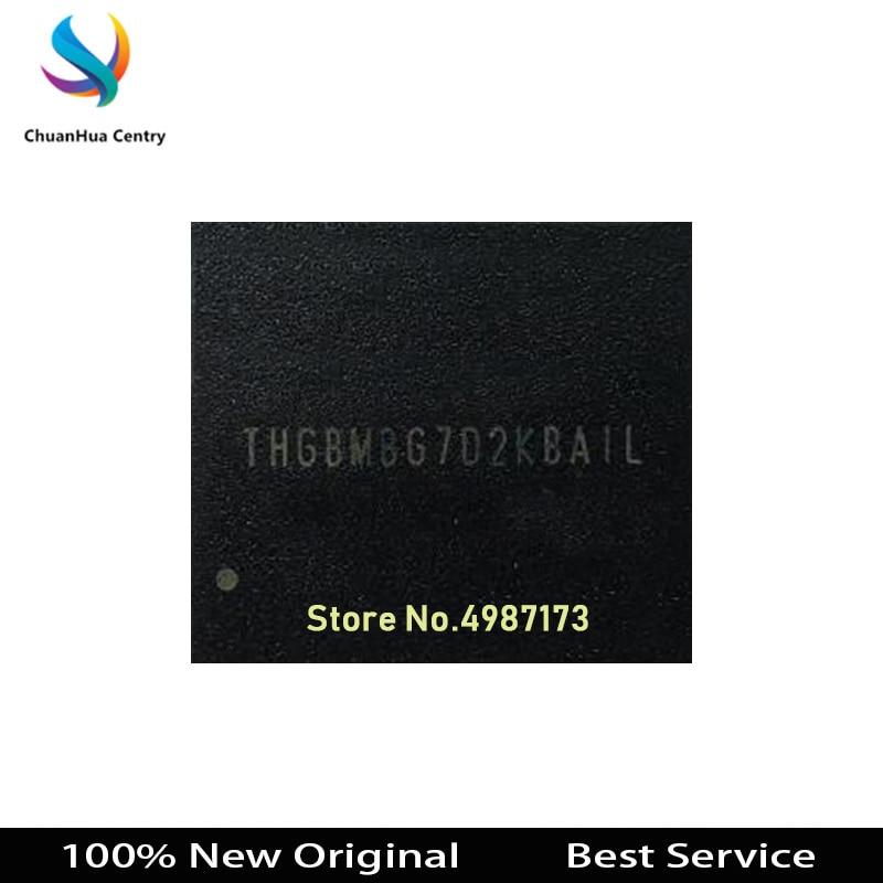1 unids/lote THGBMBG7D2KBAIL 16GB BGA153 100% nuevo Original THGBMBG7D2KBAIL en Stock mayor descuento para mayor cantidad