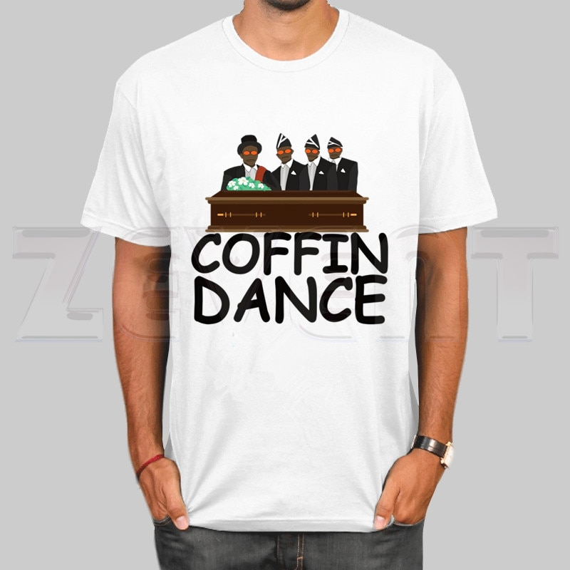 Ataúd Dance Tshirt verano Tops Ghana Funeral Dance Team camiseta o-cuello Ghana Dancing Pallbearers Camiseta de manga corta