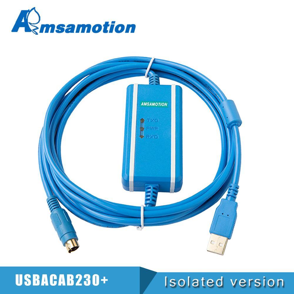 USB-DVP подходящий Кабель для программирования Delta DVP PLC USBACAB230 DVP ES EE SS Series