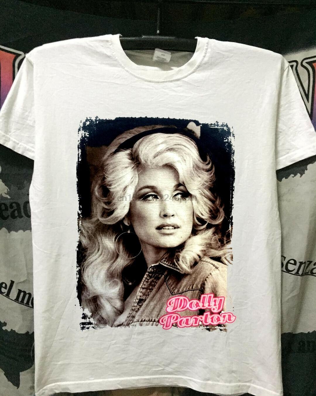 Hot Rame Rare Dolly Parton Country Music Tour New Reprint Tshirt Usa Size