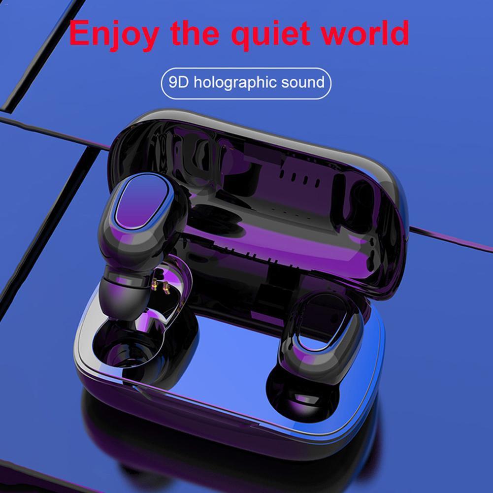 L21 TWS Bluetooth 5,0 Sport Drahtlose Kopfhörer In-Ohr Earbuds für iOS Android Bluetooth In-Ear Noise Reduktion wireless Stereo
