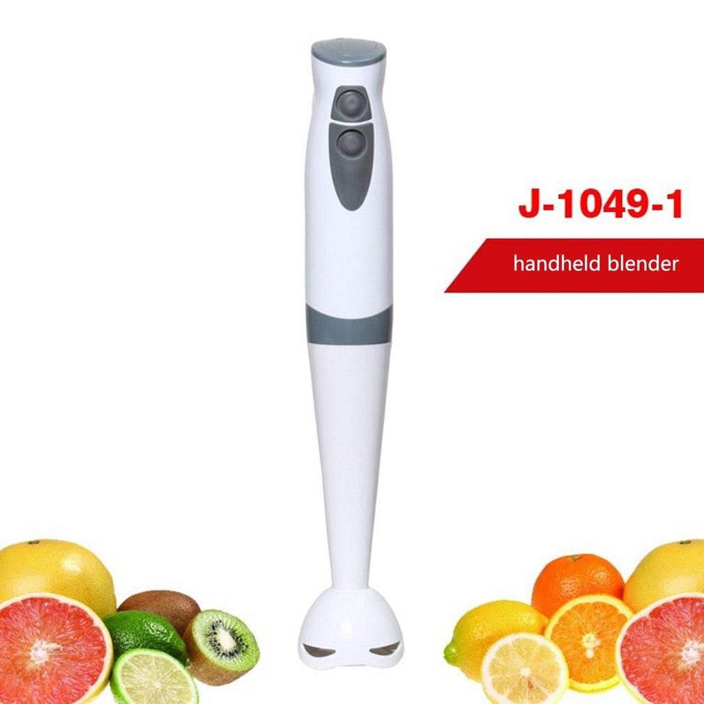 Licuadora eléctrica portátil batidor de frutas y verduras batidor de huevos batidora de nueces batidora de Mezclador de alimentos de bebé cocina batidora de zumo enchufe de la UE
