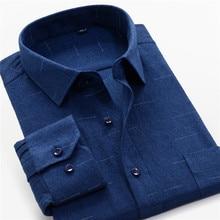 Frühling herbst Männer Business Lose Gerade Lange hülse shirts mode lässig Kleid Hemd camisa masculina Plus Größe 8XL 9XL 10XL