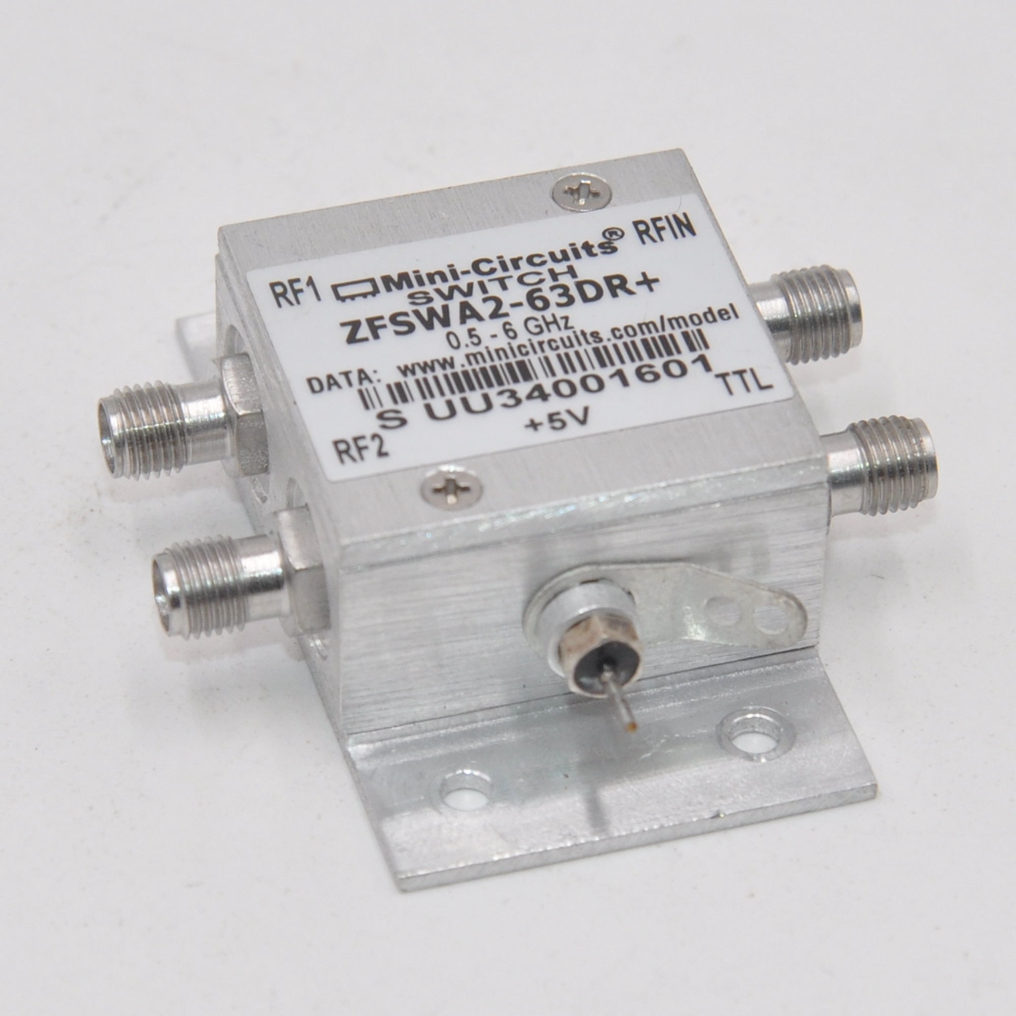 MINI-Clrcults switch driver SMA shape memory alloy RoHS connector ZFSWA2-63DR +
