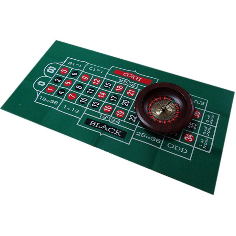 Двухсторонняя скатерть для игры русская рулетка и блэкджек игровой стол коврик K1KD-0