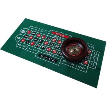 Двухсторонняя скатерть для игры русская рулетка и блэкджек игровой стол коврик K1KD