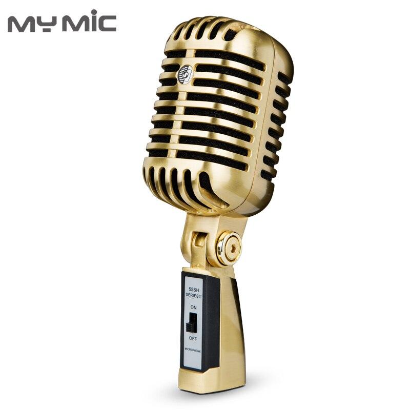 بلدي Mic FG01 المهنية الرجعية المكثف ستوديو تسجيل ميكروفون للكمبيوتر الألعاب البث
