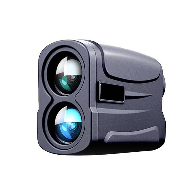 Real Time Speed Distance Measurer 1000m Mini Laser Range Finder Mounted For Outdoor Hunting Shooting Rangefinder