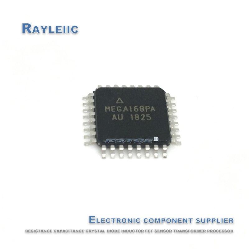 50PCS!!!NEW Original ATMEGA168PA-AU TQFP32 ATMEGA168PA 168PA-AU TQFP-32 16K flash AVR 8-bit microcontroller In Stock