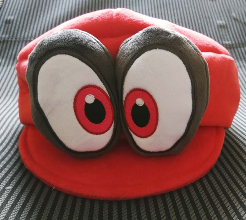 Nieuwe Super1 Mario Odyssey Cappy Pluche Hoed Soft Cosplay Red Kids Cap Gift