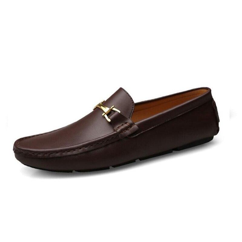 Роскошная брендовая Весенняя мужская повседневная обувь; Модная мужская обувь для вождения в горошек; Мужские кроссовки без застежки для в...