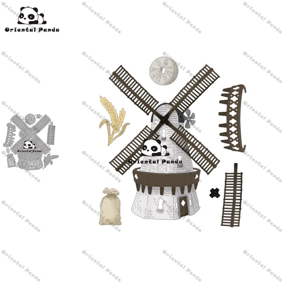 NewDies Vintage windmill Metal Cutting Dies diy Dies photo album  cutting dies Scrapbooking Stencil Die Cuts Card Making die cut