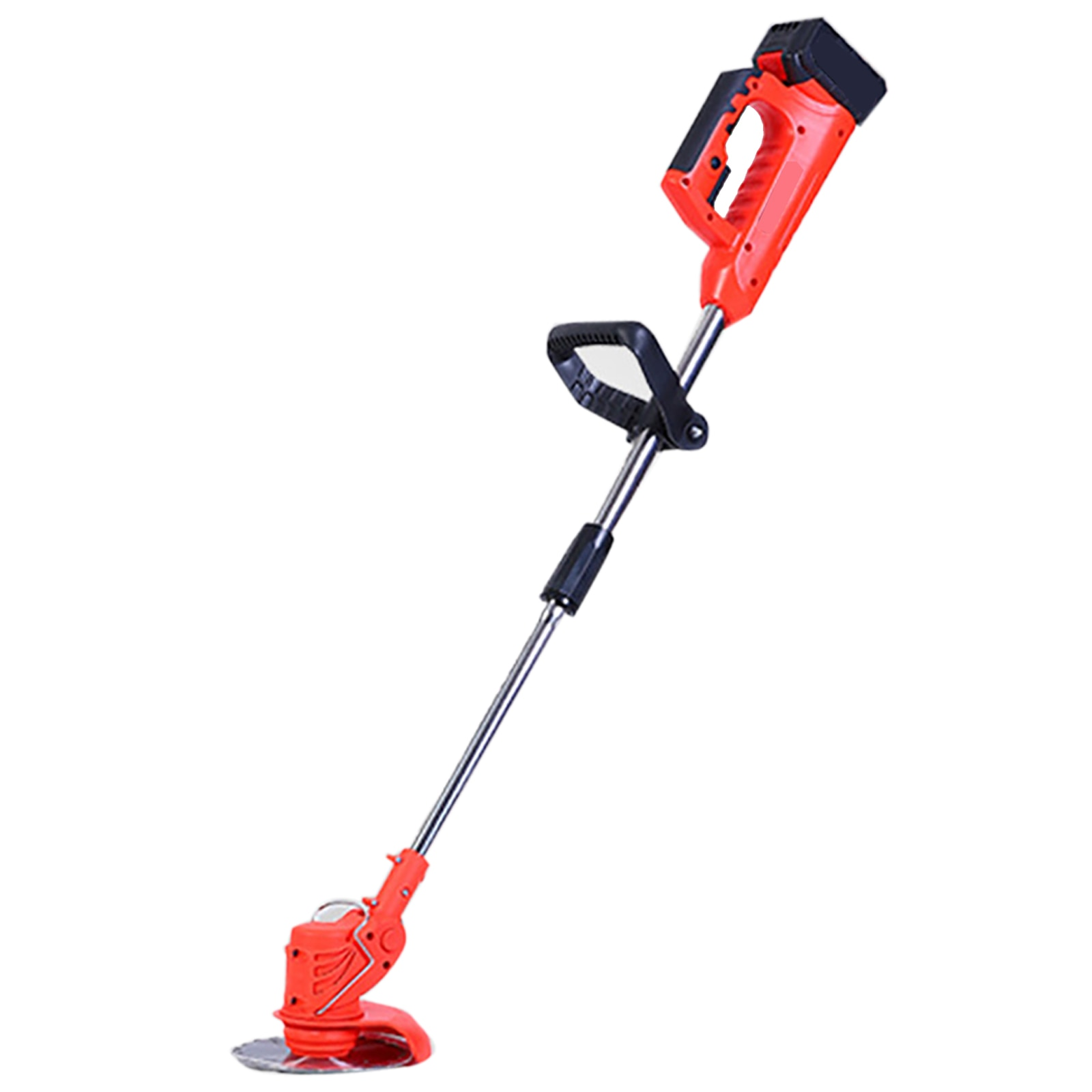 Electric Grass Cutter Portable Lawn Mower Handheld Lawn Mower Lithium Battery Lawn Trimming Wireless Household Garden Tools