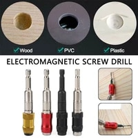 14 hex shank pivoting magnetic screw drill tip quick change locking bit holder impact drivers and wrenches