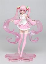 Figurine vocaloïde Miku Sakura Figurine PVC modèles Kawaii Hatsune Miku Figurine poupée Brinquedos
