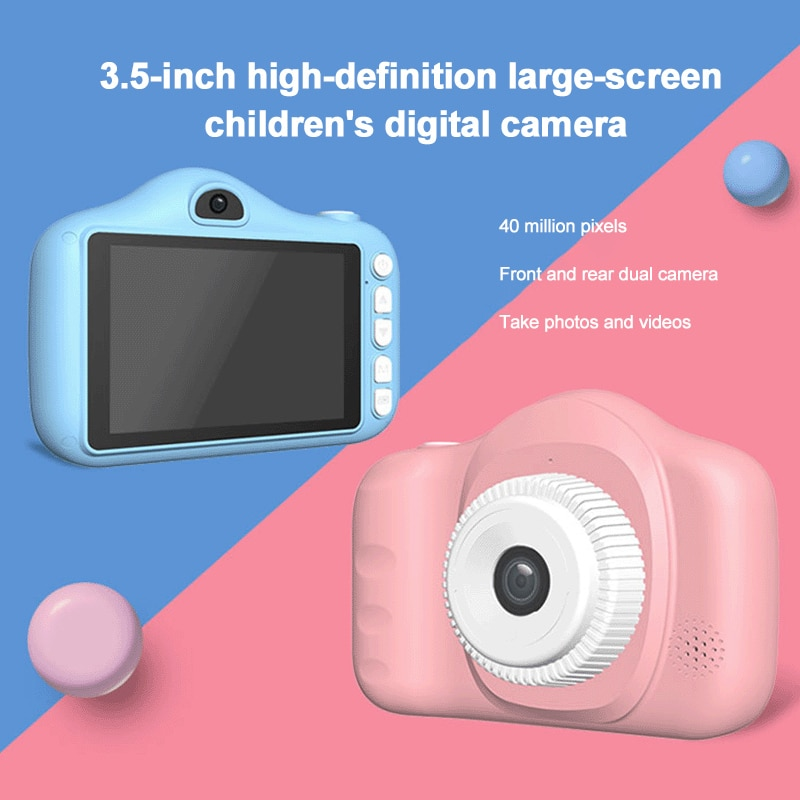 Children Kids Camera Educational Toys for Baby Gift Mini Digital Camera 1080P Projection Video Camer