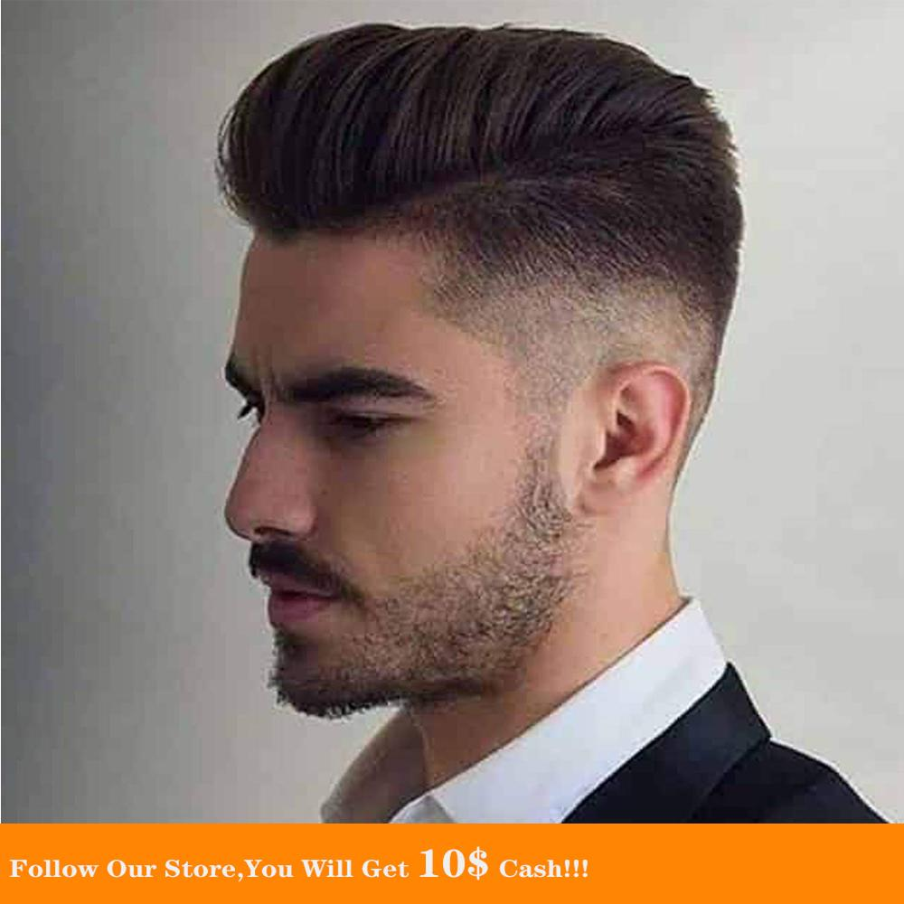BYMC Mens Toupee Malaysia Virgin Human cabelo Soft Natural Blonde homem Toupee Fine Mono Top With PU Skin Lace Front On Rite