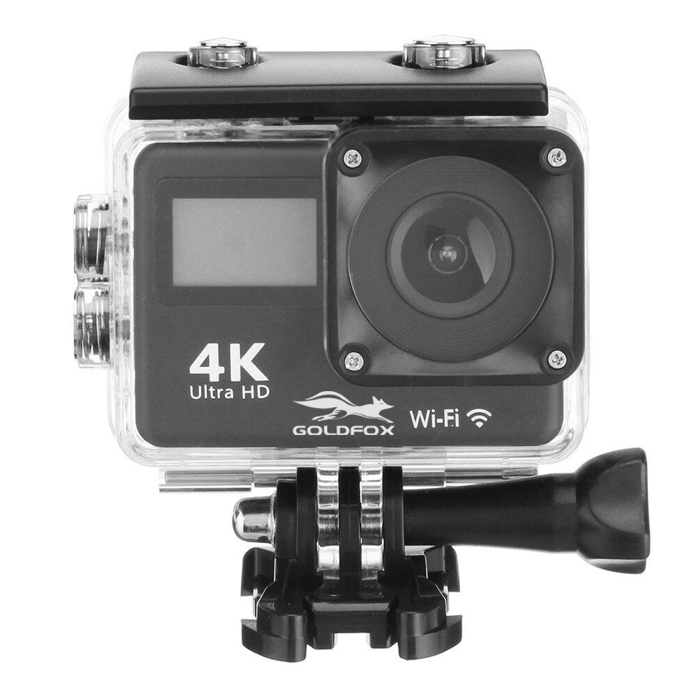 Ultra HD 4K Action Camera Touch Screen WiFi 2.0 inch 12MP Sport Camera 30m Go Waterproof Pro Cam 170D Sport Video Helmet Camera
