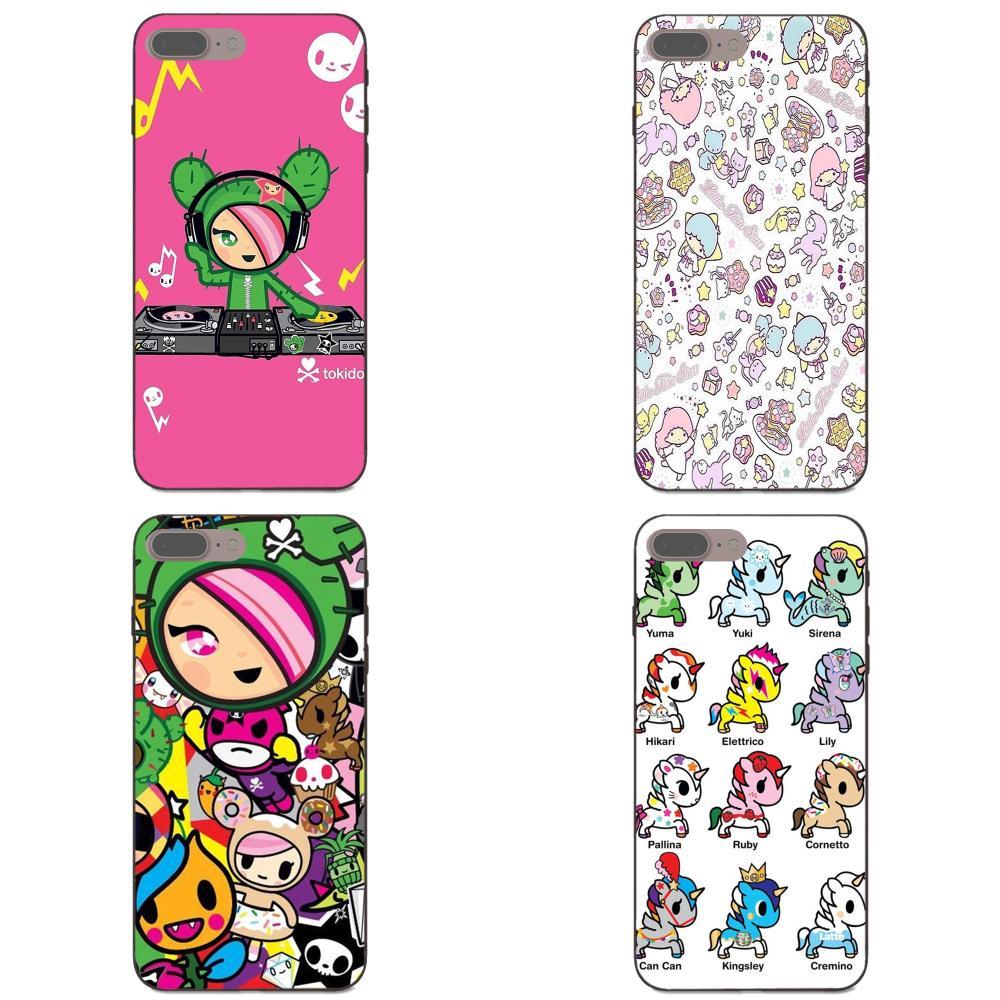 Dla Xiao mi mi mi x Max uwaga 2 2S 3 5X 6 6X 8 9 SE A1 A2 Lite Play Pro F1 Diy etui na telefony japońskie Tokidoki wszystkie naklejki w kształcie gwiazd