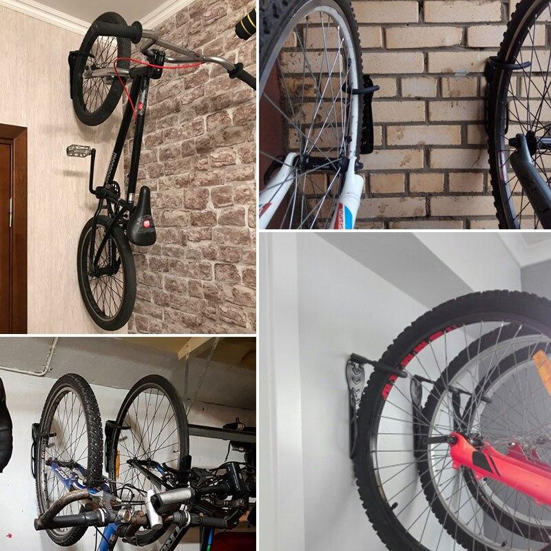 Fiets Muur Stand Steel Muur Hanger Haak Mountainbike Wall Mounted Rack Stands Houder Opslag Fiets Accessoires