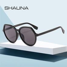 SO&EI Vintage Oversized Polygonal Women Sunglasses Grey Red Tea Lens Eyewear Men Outdoor Sports Driv