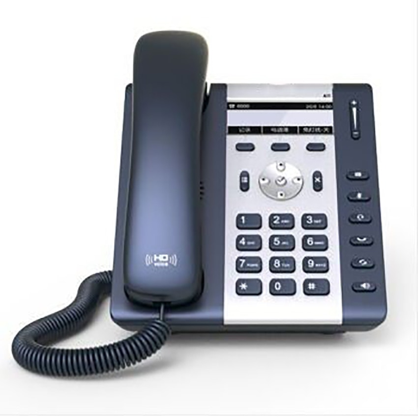 1-Line IP Phone with 2-Port and 132x52 LCD Display, Backlight, Multi-language, A10W Wireless LAN IP Phone WIFI-SIP Phone