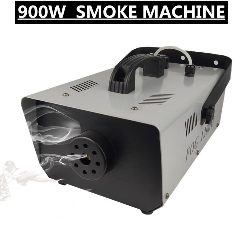 آلة دخان 900 واط ، جهاز ضباب للتحكم عن بعد مع كابل ، معدات DJ احترافية