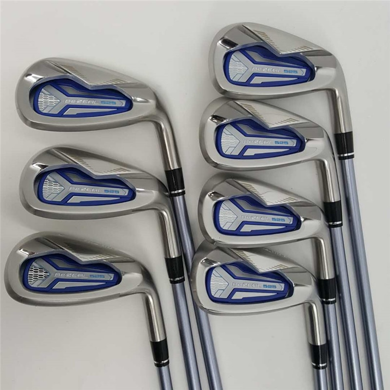 HONMA Womens Golf Club Irons Set HONMA BEZEAL 525 Golf Clubs Graphite Shaft  L Flex 6-11.S/7Pcs with Head Cover